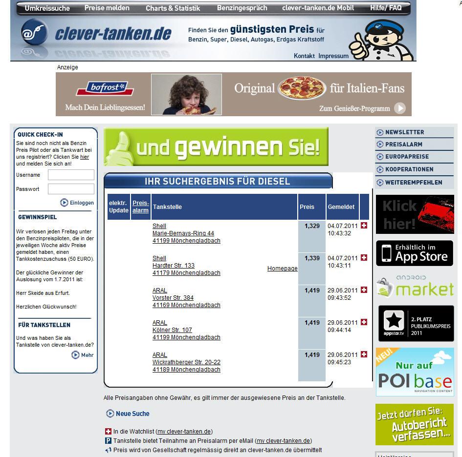 deutschlandkarte blog clever tanken aktuelle spritkosten in deutschland. Black Bedroom Furniture Sets. Home Design Ideas