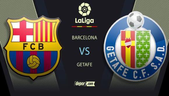 Barcelona vs Getafe EN VIVO por LaLiga: canales de TV en directo para ver el partido