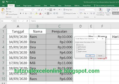 Trik Microsoft Excel: Cara Menjumlahkan Sejumlah Sel Otomatis Tanpa Klik Satu Persatu