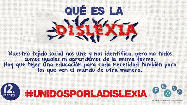 #UNIDOS POR LA DISLEXIA
