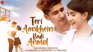 Checkout new song Teri Aankhein badi anmol lyrics penned by Manoj Yadav & sung by Yasser Desai