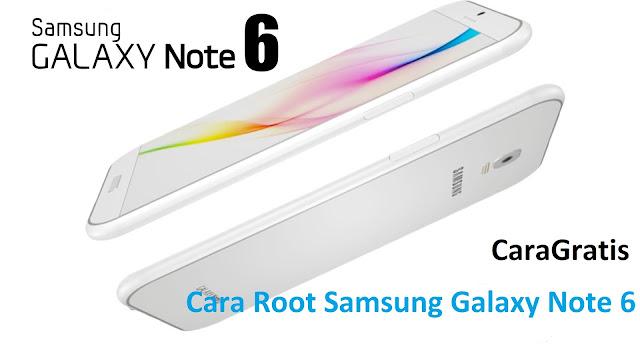 Cara Root Samsung Galaxy Note 6 Tanpa PC Terbaru
