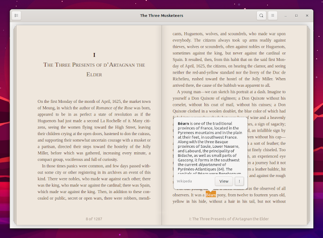 Foliate eBook reader