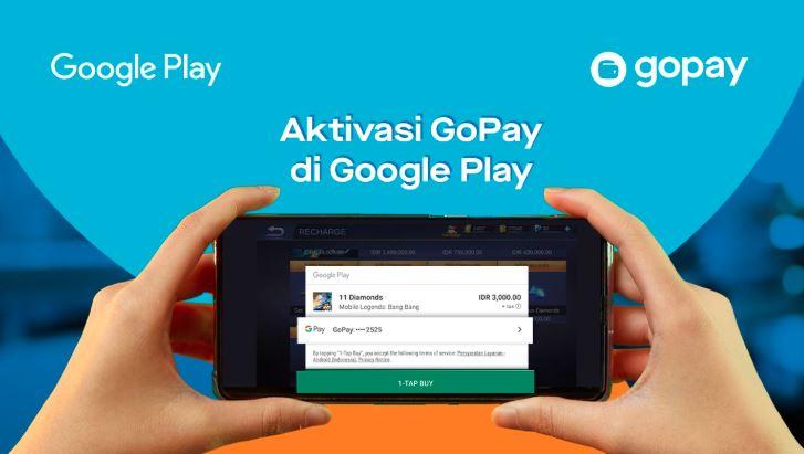 Cara Mengaktifkan GoPay di Google Play Store