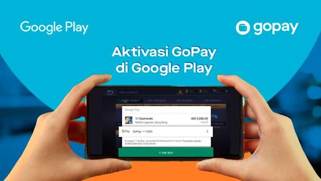 Cara Mengaktifkan Pembayaran Gopay Di Google Play Store