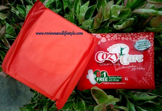CozyCare Comfy Thin Sanitary Napkins Review