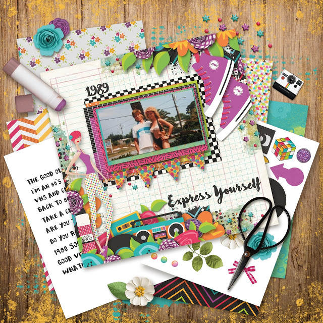My Muse Printable Scrapbooking kit