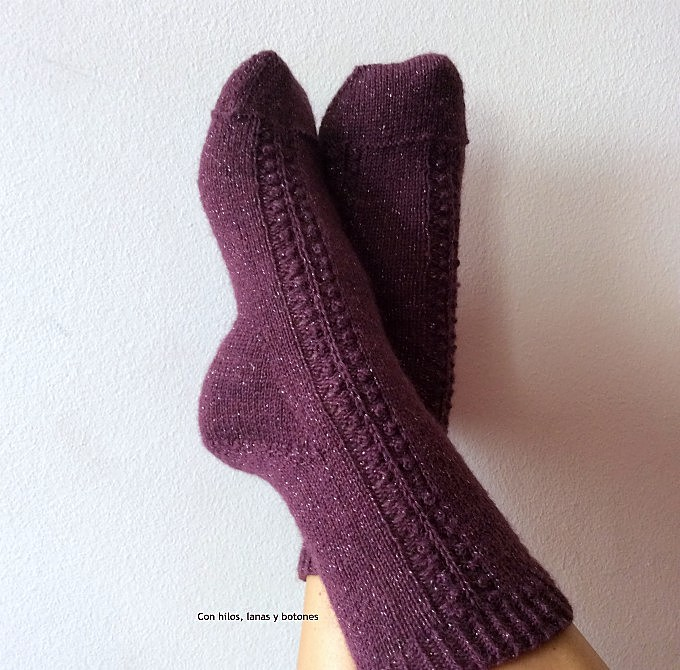Con hilos, lanas y botones: Celebration Socks (Winter's Weather Knits)