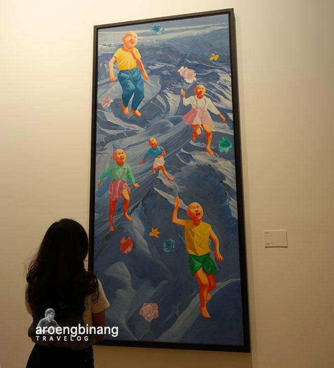 fang lijun museum macan modern and contemporary art in nusantara jakarta barat