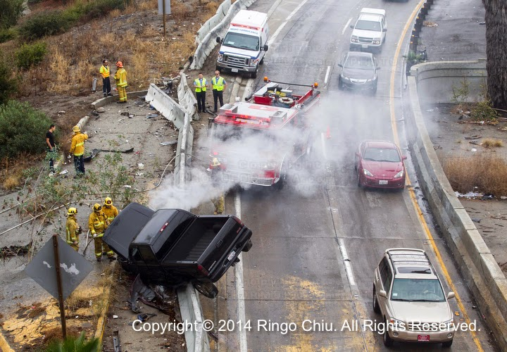 Ringo Chiu Photography: Rainy Day Traffic accident in Los
