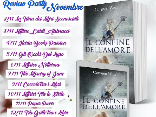 *Review Party* Il confine dell'amore di Carmen Weiz
