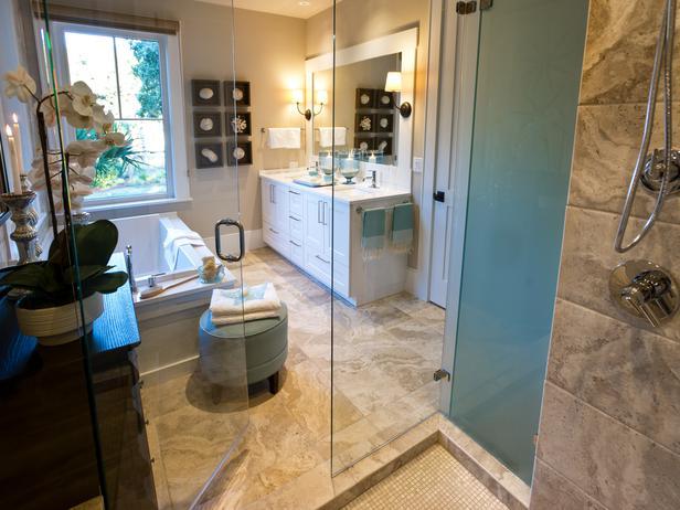 Modern Furniture: Master Bathroom Pictures : HGTV Dream