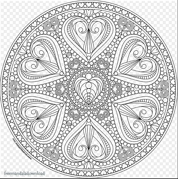Malvorlagen mandala kostenlos-pdf - Free Mandala
