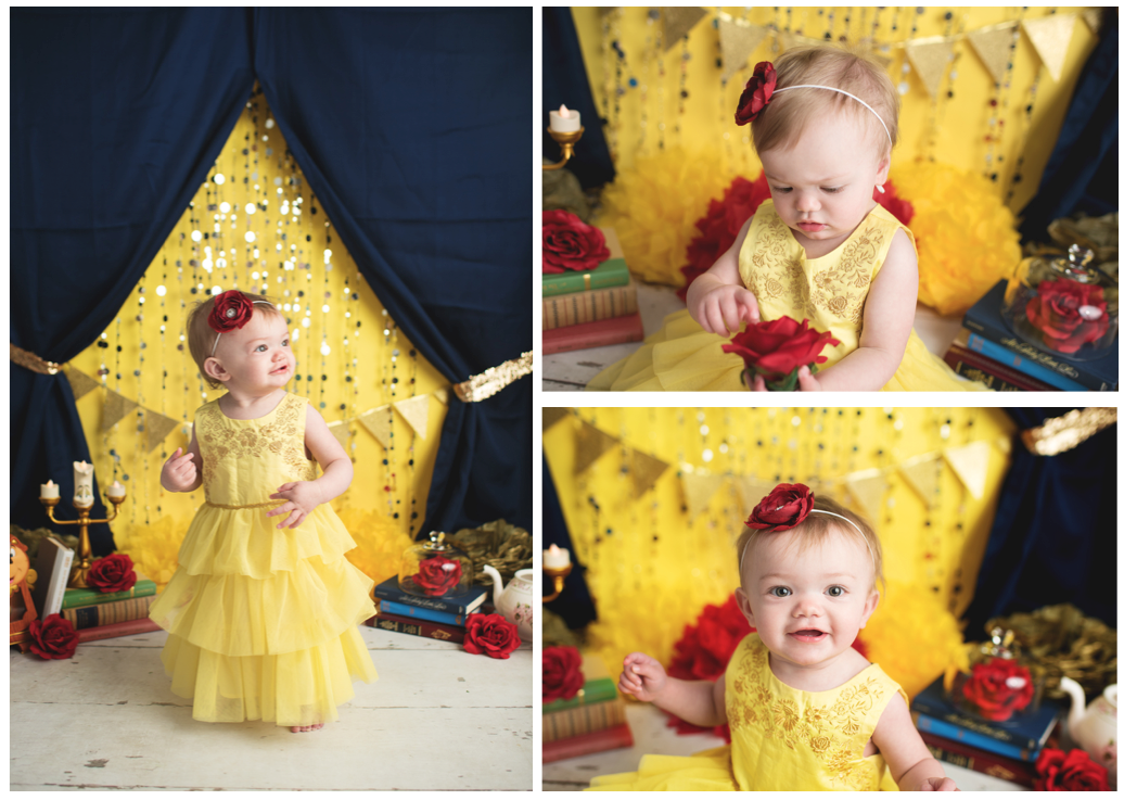 Home Confetti Beauty And The Beast Smash Cake Photo Shoot