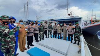 Puluhan Personel TNI-Polri Diturunkan Amankan Pilkada di Pulau Terluar Pangkep