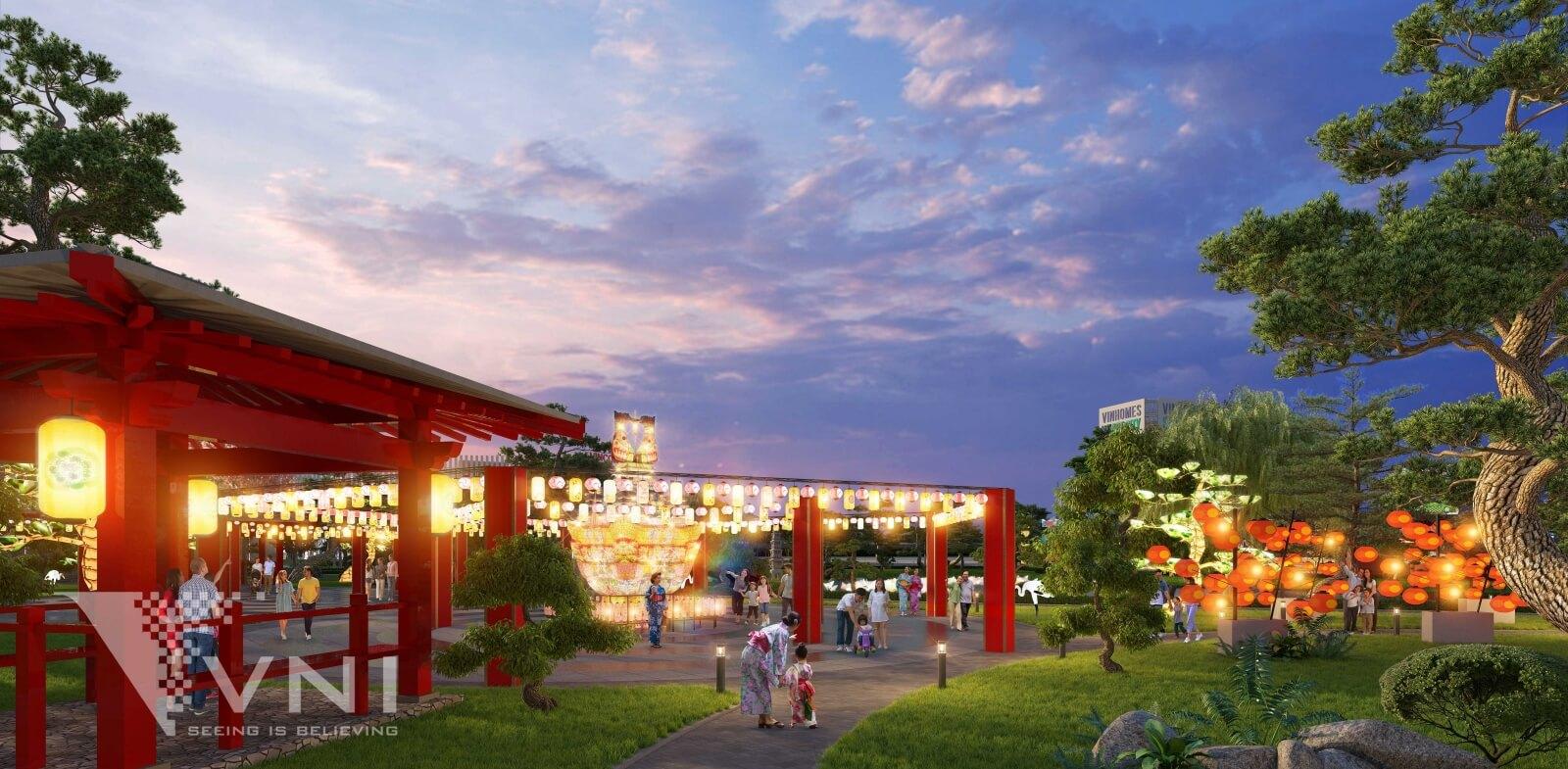 Công viên đèn lồng Vinhomes Smart City
