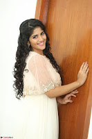 Megha Akash in beautiful Cream Transparent Anarkali Dress at Pre release function of Movie LIE ~ Celebrities Galleries 057.JPG