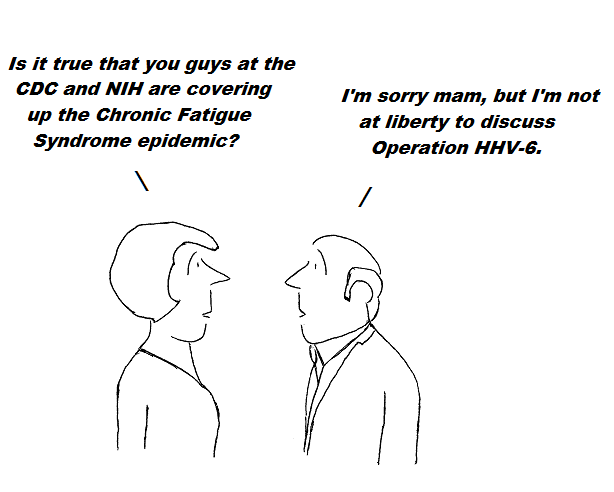 cartoon, hhv-6, cdc,nih, aids