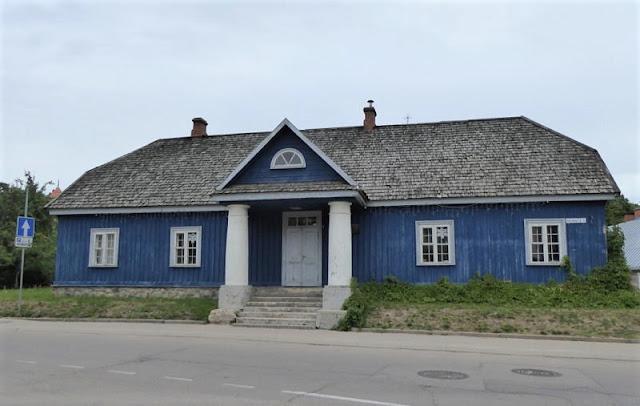 l'ex ufficio postale russo a trakaia