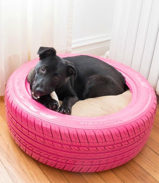 casinha de cachorro, reciclagem, upcyling, old tire, a casa eh sua, acasaehsua