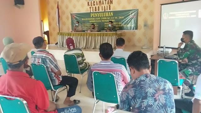 Satgas TMMD Bangkitkan Semangat Petani, Melalui Kegiatan Penyuluhan Pertanian