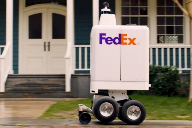 robot kurir otonom Fedex