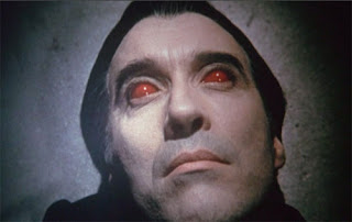 Christopher Lee's first appearance in Taste the Blood of Dracula (1970)