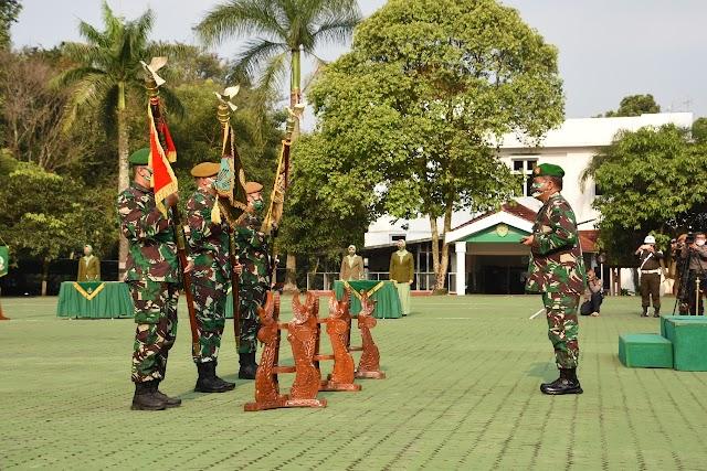 Pangdam III/Siliwangi Pimpin Serah Terima Jabatan 3 Komandan Batalyon dan Daninteldam