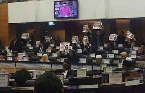 #Bajet2017 Ahli Parlimen Pembangkang Undi Tidak Sokong Manfaat Kerajaan Kepada Rakyat