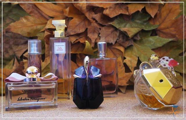 Meus perfumes de inverno!
