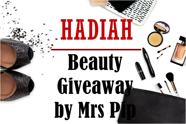 Hadiah Beauty Giveaway By Mrs Pip
