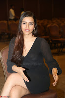 Kyra Dutta in black At Rogue Movie Audio Launch ~  038.JPG