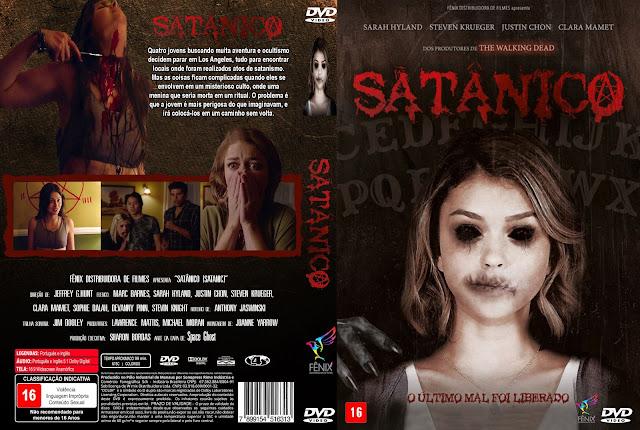 Capa DVD Satânico
