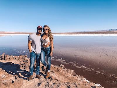 Erika Schneider e o namorado Victor Peres