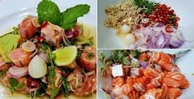 แจกสูตรอร่อยยำปลาแซลมอน เมนูลดน้ำหนัก ทำเองอร่อยเอง บอกหมดไม่มีกั๊ก