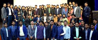 व्यवसाय प्रबंधन विभाग में फ्रेशर पार्टी का हुआ आयोजन | #NayaSaberaNetwork