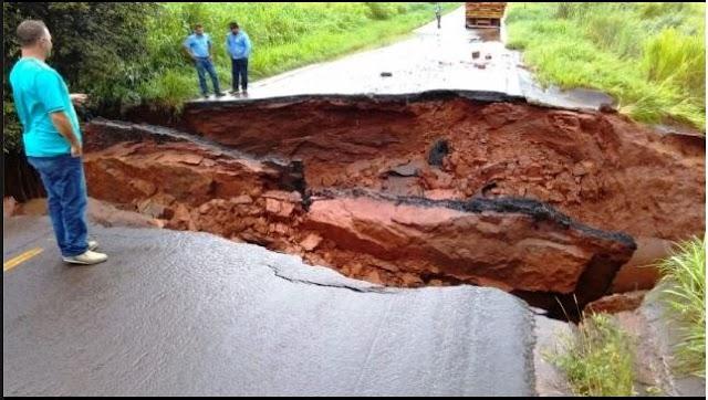 Mais duas rodovias interditadas devido aos estragos causados pelas chuvas no Paraná