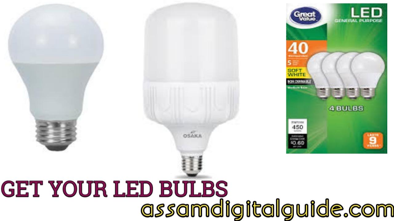 Electricity under Scheme DSM Board Assam LED bulbs from Get FKTlc31Ju