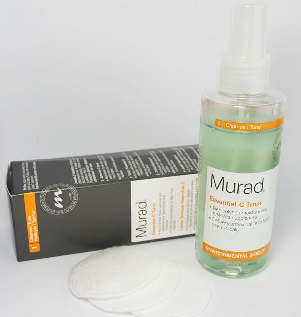 Review: Murad - Essential-C Cleanser & Toner