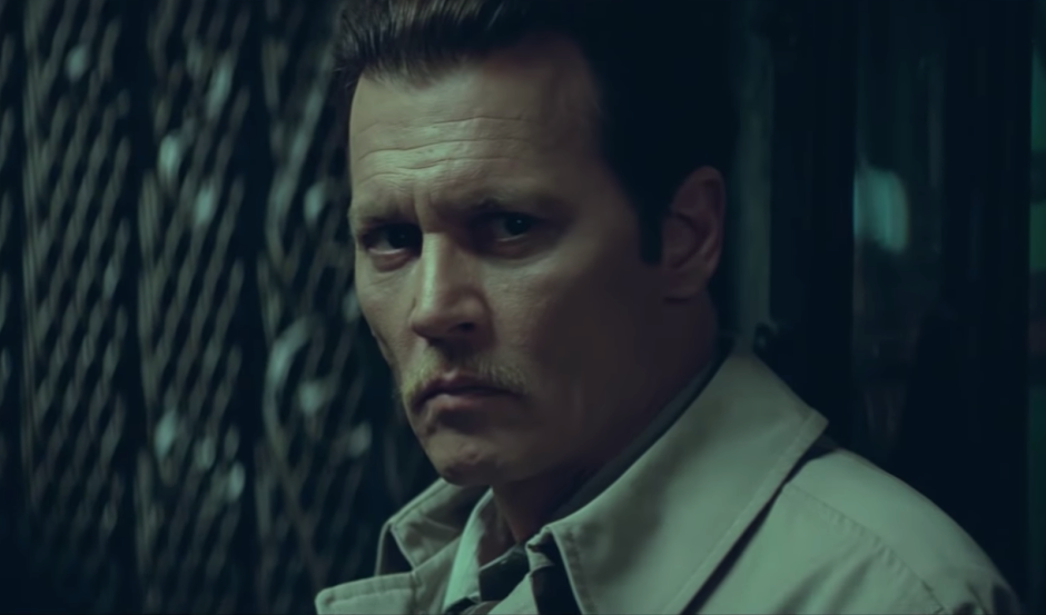 "Johnny Depp investiga o assassinato de Notorious BIG no trailer de ""City of Lies"""