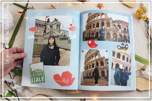 Colisée Italie en livre photo