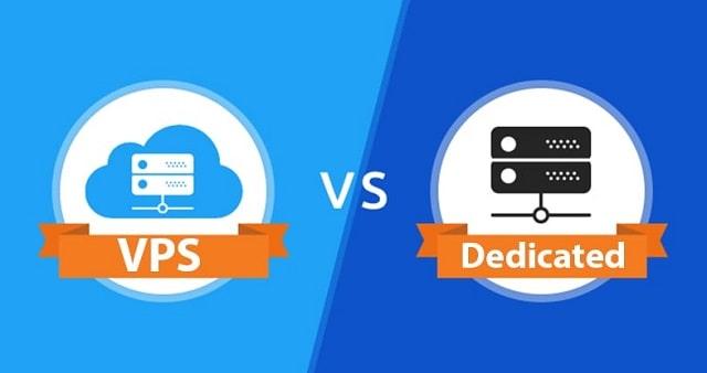 dedicated server vs vps hosting virtual private servers
