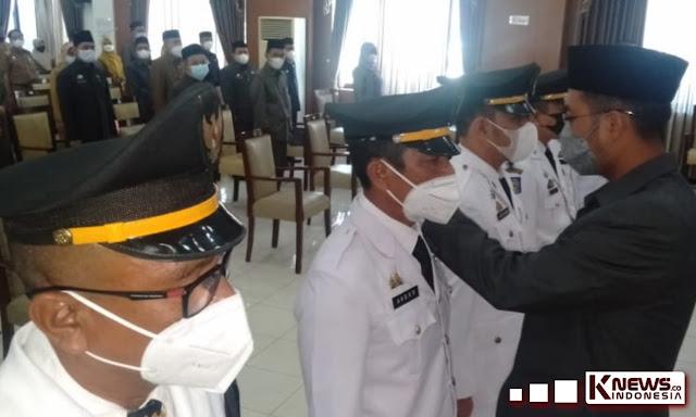 Seto Lantik 151 Pejabat Baru, Sebut Suksesi Pengkaderan Ditubuh Birokrasi Pemda Sinjai