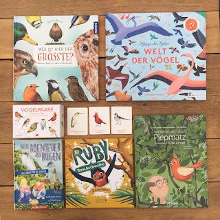 Kinderbücher und Sachbücher über Vögel