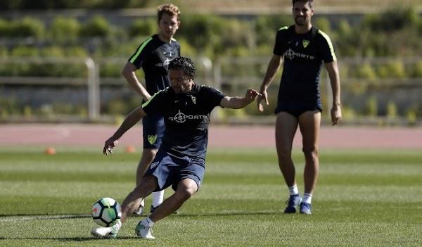 Málaga, entrenamiento hoy con 22 jugadores