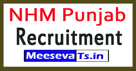 National Health Mission NHM Punjab Recruitment