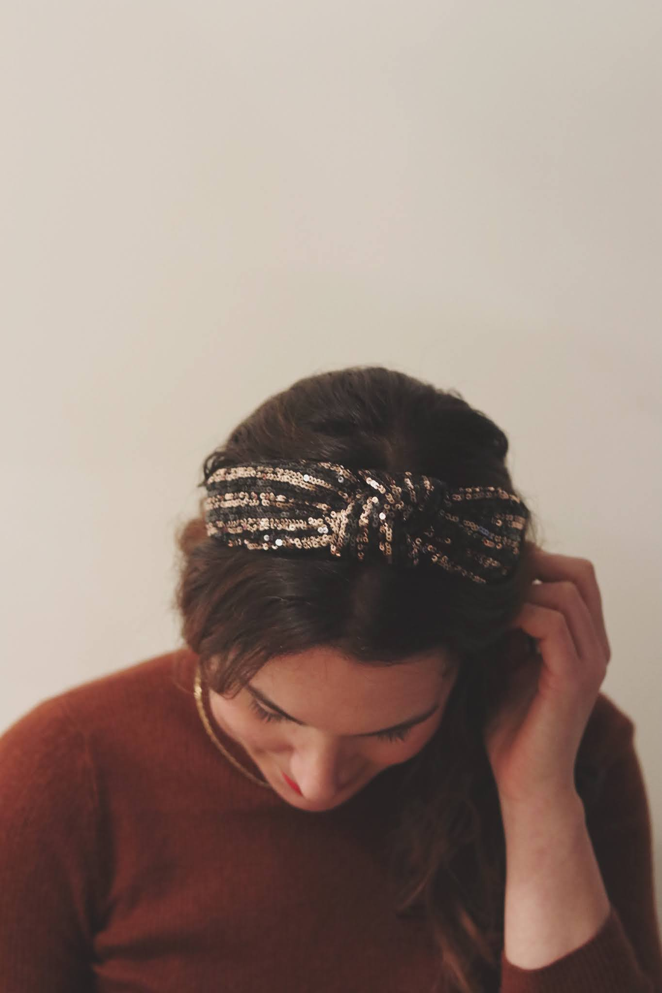 cute holiday hair accessory sparkle headband the MEREband