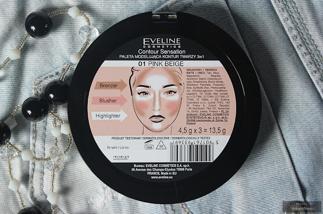 Eveline Contour Sensation 3in1