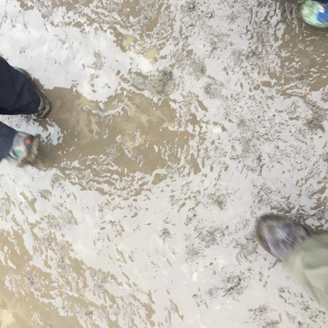 mud at Westmorland County Show