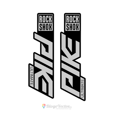 PIKE Ultimate Rock Shox Logo Vector
